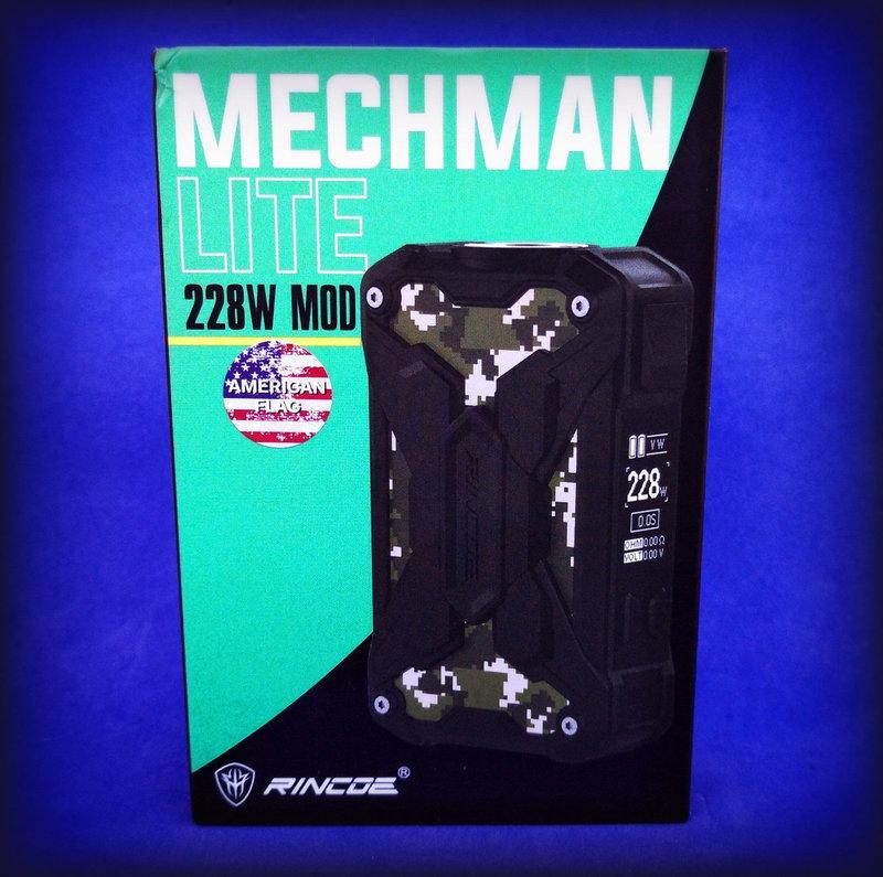 Rincoe Mechman Lite 228Watt [SigarettaElettronicaForum.com]