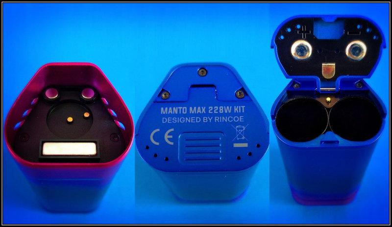 [SigarettaElettronicaForum.com] Rincoe Manto Max 228W Kit Tre in uno