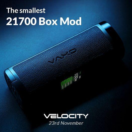 OXVA Velocity La Più Piccola Box Mod 21700 Al Mondo? [SigarettaElettronicaForum.com]