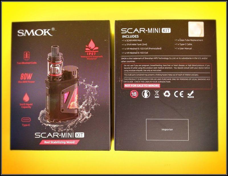 SMOK Scar-Mini Kit 80W [SigarettaElettronicaForum.com]