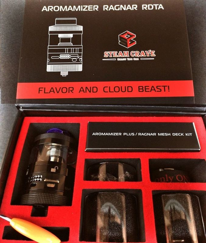 Steam Crave Aromamizer Ragnar RDTA Advanced Version [SigarettaElettronicaForum.com]