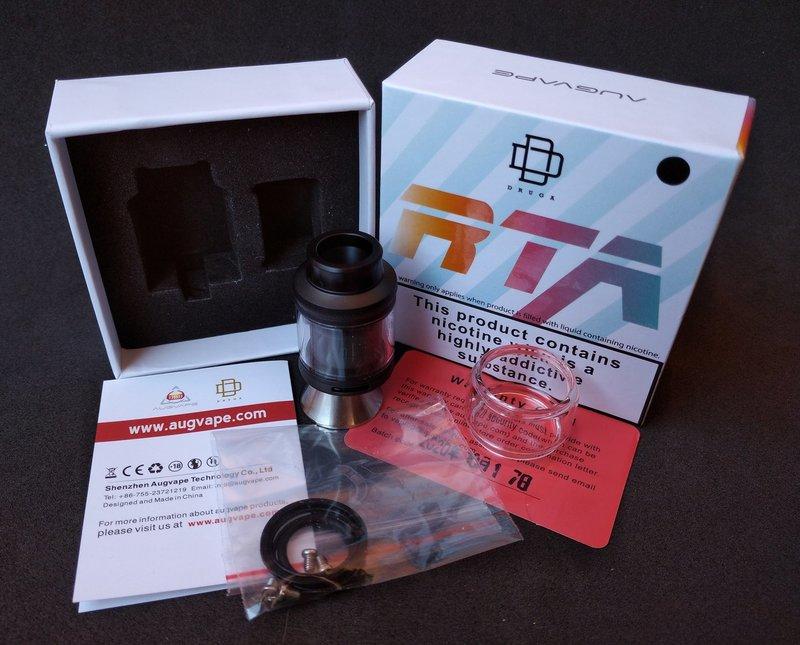 Augvape Druga RTA 3D Bottom Air Flow [SigarettaElettronicaForum.com]