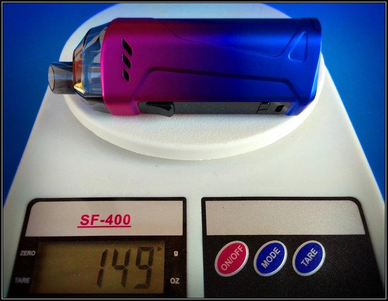 Rincoe Manto Max 228W Kit Tre In Uno [SigarettaElettronicaForum.com]