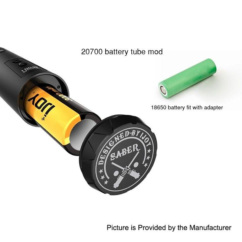 IJOY Saber 100W VW Variable Wattage Mod - Battery  1 X 18650 / 20700-authentic-ijoy-saber-100w-vw-variable-wattage-mod-w-20700-battery-silver-1-x-18650-207003.jpg