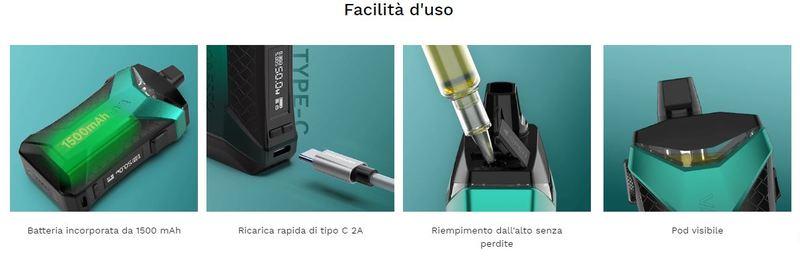 Vaporesso Xiron 50W [SigarettaElettronicaForum.com]