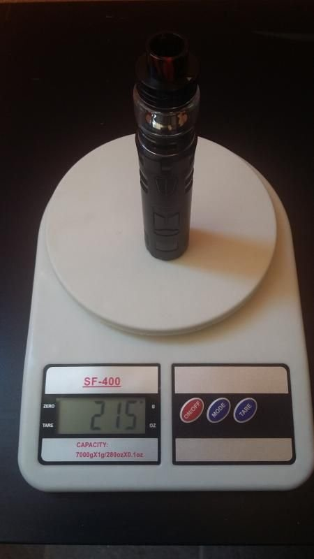Rincoe Mechman 80W Mesh Kit Tubo Elettronico [SigarettaElettronicaForum.com]