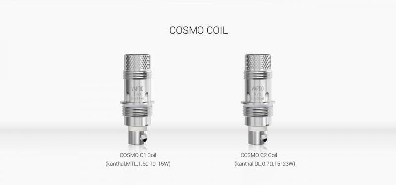 Vaptio Cosmo Kit Nautilus Coil [SigarettaElettronicaForum.com]