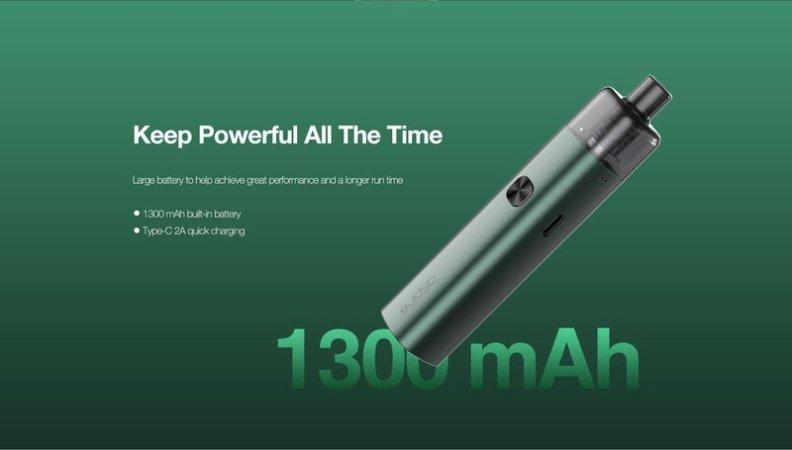 Aspire AVP Cube Pod System Kit 16W 1300mAh [SigarettaElettronicaForum.com]
