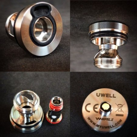 Uwell Conick Mod + Whirl II Tank MTL [SigarettaElettronicaForum.com]
