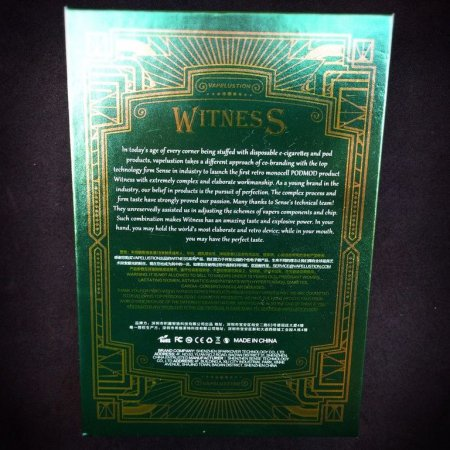 Witness 80W by Vapelustion & Sense [SigarettaElettronicaForum.com]