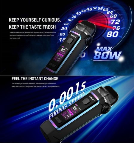 [SigarettaElettronicaForum.com] SMOK IPX 80 Kit 3.000mAh